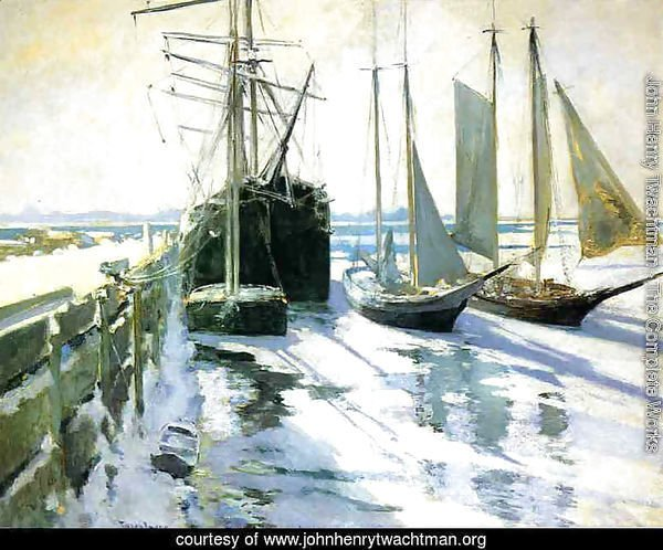 Winter, Gloucester Harbor