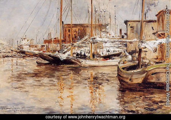 Oyster Boats, North River