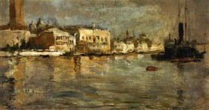 John Henry Twachtman - View of Venice I