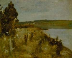 John Henry Twachtman - The River
