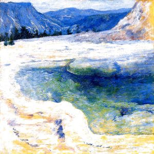 John Henry Twachtman - Emerald Pool 2