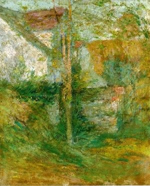 John Henry Twachtman - Afternoon Shadows
