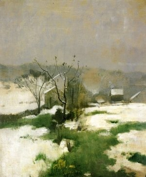 John Henry Twachtman - An Early Winter