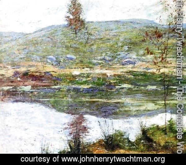 John Henry Twachtman - Autumn Mists
