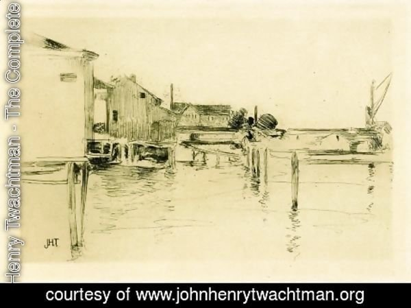John Henry Twachtman - Bridgeport