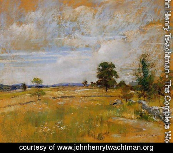 ed5093758cde3 John Henry Twachtman - The Complete Works - Connecticut Landscape ...