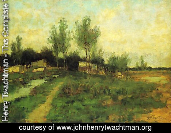 John Henry Twachtman - Country Path