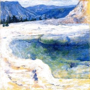 John Henry Twachtman - Emerald Pool2