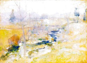 John Henry Twachtman - End Of Winter