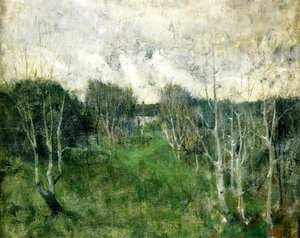 John Henry Twachtman - Gray Day