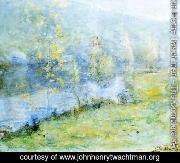 John Henry Twachtman - May Morn