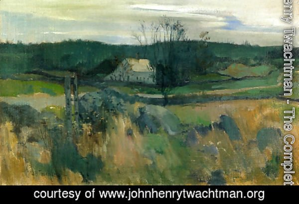John Henry Twachtman - Middlebrook Farm