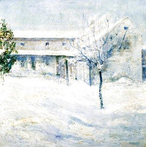John Henry Twachtman - Old Holley House  Cos Cob