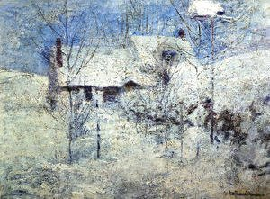 John Henry Twachtman - Snowbound