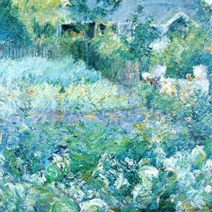 John Henry Twachtman - The Cabbage Patch
