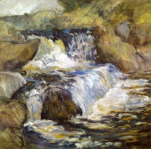 John Henry Twachtman - The Cascade