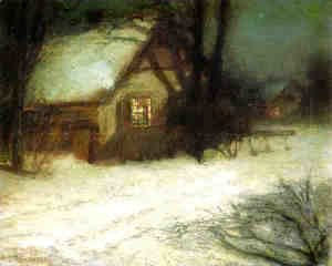 John Henry Twachtman - The Christmas Tree