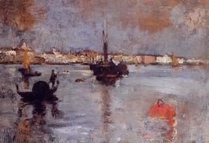 John Henry Twachtman - The Grand Canal  Venice