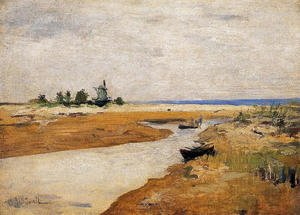 John Henry Twachtman - The Inlet