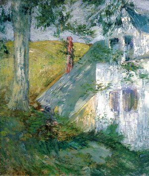 John Henry Twachtman - The Summer House