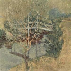 John Henry Twachtman - The White Bridge