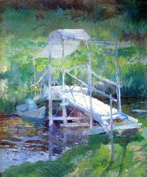 John Henry Twachtman - The White Bridge2