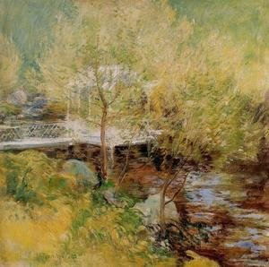 John Henry Twachtman - The White Bridge3