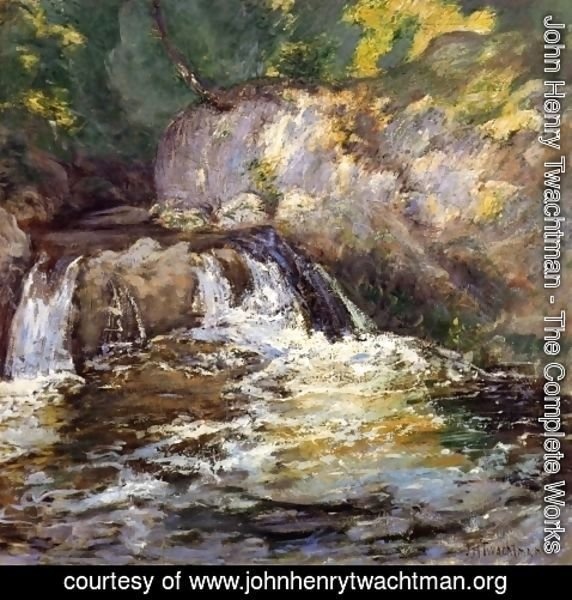 John Henry Twachtman - Waterfall