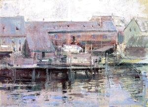 Waterfront Scene   Gloucester