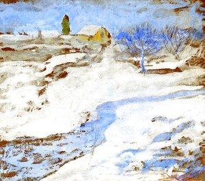 John Henry Twachtman - Winter2