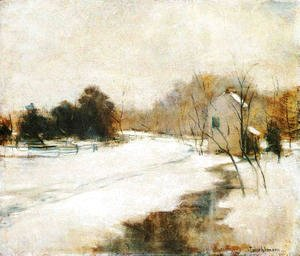 John Henry Twachtman - Winter In Cincinnati
